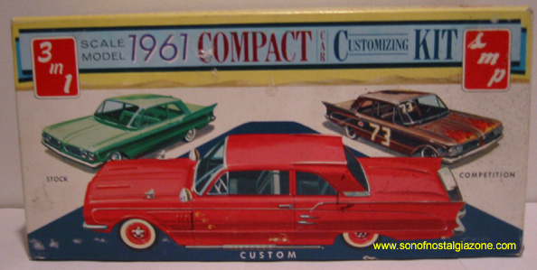 1961 Compact Car Customizing Kit Box