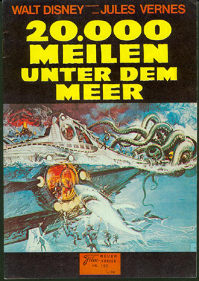 20,000 Leagues Under The Sea Movie German Program