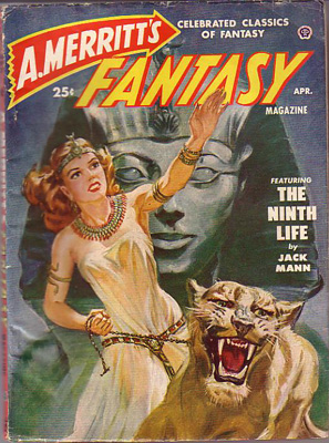 A. Merritt�s Fantasy April, 1950