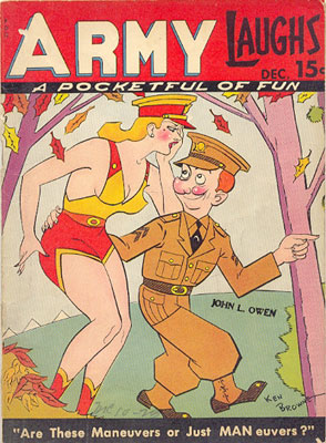 Army Laughs December, 1941