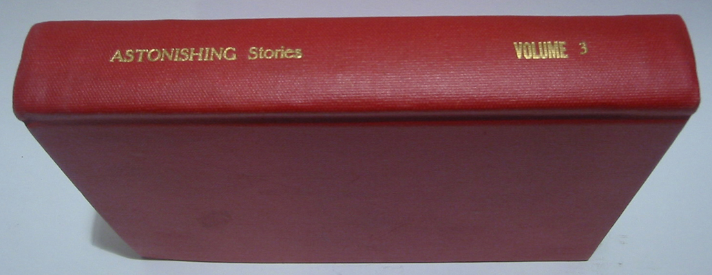 Astonishing Stories Bound Volume 3