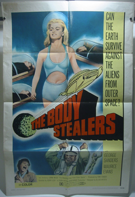 The Body Stealers One Sheet Movie Poster