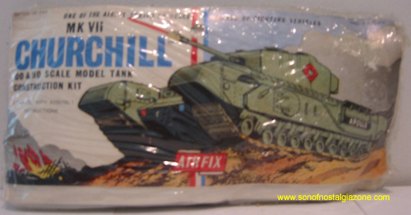 MK VII Churchill Tank Model Kit