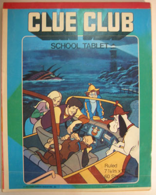 Clue Club School Tablet
