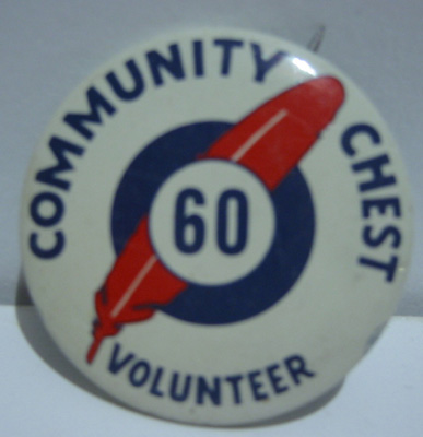 Community Chest Pin