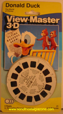 Donald Duck Viewmaster Reel Set