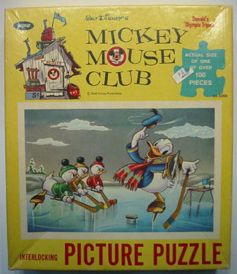 Donald Duck Hockey Puzzle