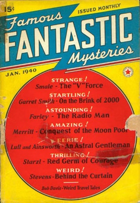 Famous Fantastic Mysteries January, 1940