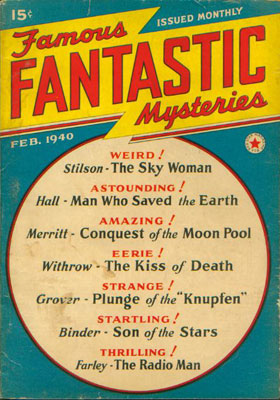 Famous Fantastic Mysteries, February 1940