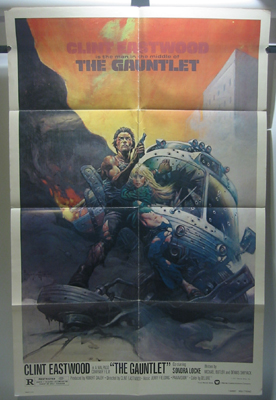 The Gauntlet Original 1 Sheet Movie Poster