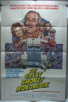 The Great Smokey Roadblock One Sheet Movie Poster