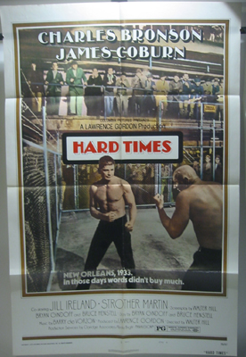 Hard Times 1 Sheet Movie Poster