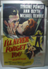 I'll Never Forget You 1 Sheet Movie Poster