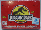 Jurassic Park Cards Factory Sealed Box