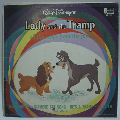Lady And The Tramp Soundtrack Record