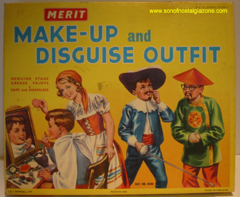 Merit Make-Up and Disguise Outfit