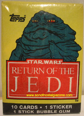 Return Of The Jedi Cards