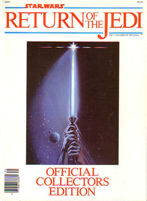 Return Of The Jedi Movie Program