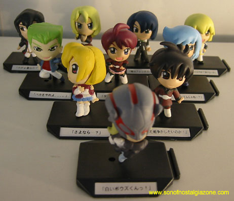 Seed Destiny Gashapon Character Set