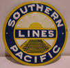 Southern Pacific Metal Sign