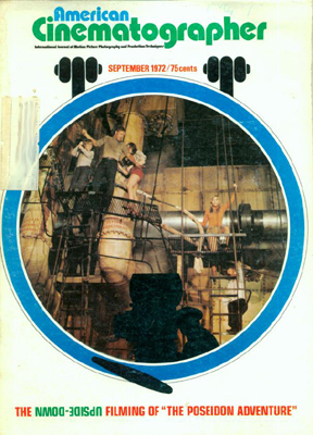 American Cinematographer Magazine September, 1972