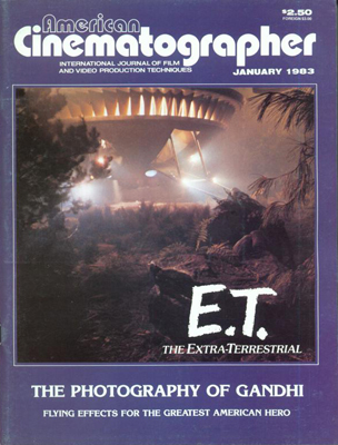 American Cinematographer Magazine January, 1983