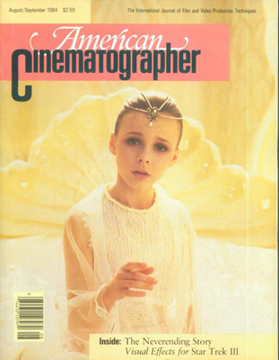 American Cinematographer Magazine August, 1984