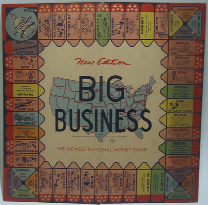 Big Business Game Board