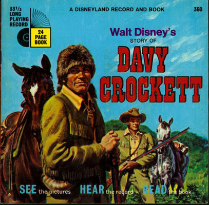 Davy Crockett Book and Record