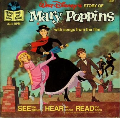 Mary Poppins Book and Record